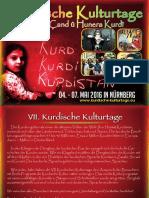 VII. Kurdischen Kulturtage 2016 Nürnberg