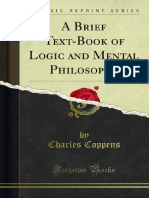 A Brief Text-Book of Logic and Mental Philosophy 1000009805