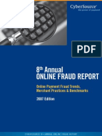 2007 Online Credit Card Fraud Report