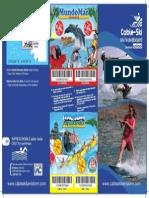 Folleto Cable-Ski temporada 2010