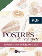Postres de Rechupete. 80 Receta - Alfonso Lopez Alonso