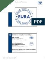 DQS EuRA Global Quality Seal Presentation 2015