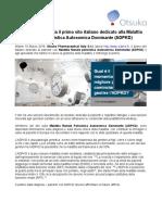 Otsuka Italia lancia ADPKD.it dedicato alla Malattia Renale Policistica Autosomica Dominante