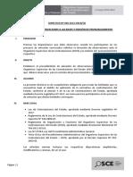 Directiva elevación observaciones