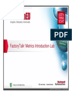 MI16 - FactoryTalk Metrics Introduction Lab RSTechED2014