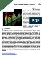 Musica Eletronica - Historia, Tecnicas e Esteticas