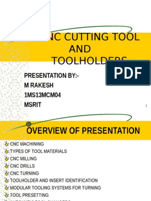 Cnccuttingtools 140314063757 Phpapp01 Machining Industries