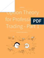 Professional Option Theory