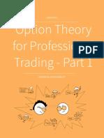 Professional Option Theory