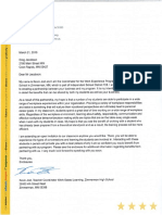 employer letter