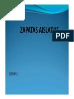 C2. Zapatas Aisladas - Ejemplo