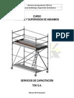 Manual Montaje y Supervision de Andamios