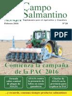 Campo Salmantino Febrero 2016