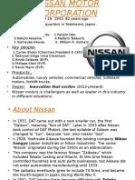 Nissan Motor Corporation(1)