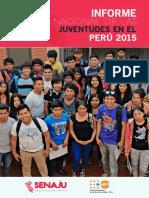 Informe Juventudes Peru 2015