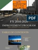 City of Rockford 2016-2020 CIP