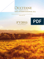 L'Occitane FY2015 AnnualReport En