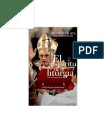 El Espíritu de La Liturgia una introducción