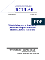 Metodo de diseño granulometrico Bailey