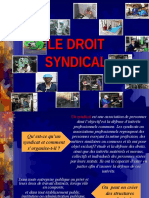 Le Droit Syndical