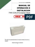 Fan Coil Piso Techo 2533 Frig 4505 Kcal