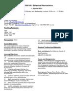 UT Dallas Syllabus for nsc3361.0u1.10u taught by Elizabeth Pickett (eaw016100)