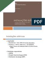 UFCD 6410 - 01 Instalações Elétricas