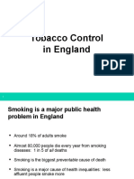 Tobacco Control in England