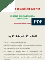 AspectosLegales NIIF - Ley 1314 y Direccionamiento -