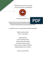 Protocolo Formal de Investigación
