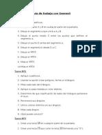 Guía de trabajo con Geonext