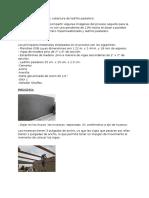 Techo de Paneles OSB y Cobertura de Ladrillo Pastelero