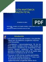 CLASE MAGISTRAL-evaluacion Anatomica de Corazon FetalII