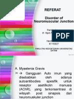 Disorder of Neuromuscular Junction