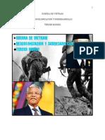 Guerra de Vietnam, Descolonizacion y Subdesarrollo y Tercer Mundo