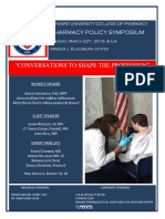 Pharmacy Policy Symposium Program Booklet