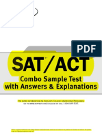 1SAT ACT Practice Test
