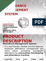 Attendancemanagementsystem