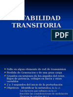 ESTABILIDAD TRANSITORIA1