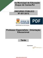 Professor Especialista Orienta o Educacional