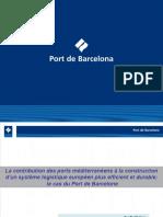 Presentation port de Barcelone FRANÇAIS 2009
