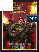 Mobile Infantry Army Book Starship Troopers Miniature games