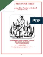 Saint Mary's Parish Bulletin