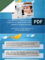 PPT jurnal cyclosporine