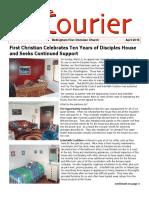 April 2016 Courier