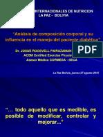 COMPOSICION CORPORAL Y PACIENTE DIABETICO