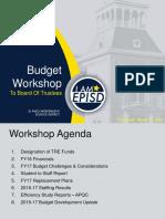 El Paso ISD 2016-17 Budget Presentation