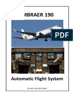 Embraer 190 Automatic Flight System