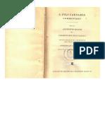 Caratula Cesar Bellum Gallicum Ed. a. Klotz Leipzig Teubner 1957