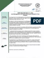 2016.03.17-Land Management Statement Yona Seminary 031716